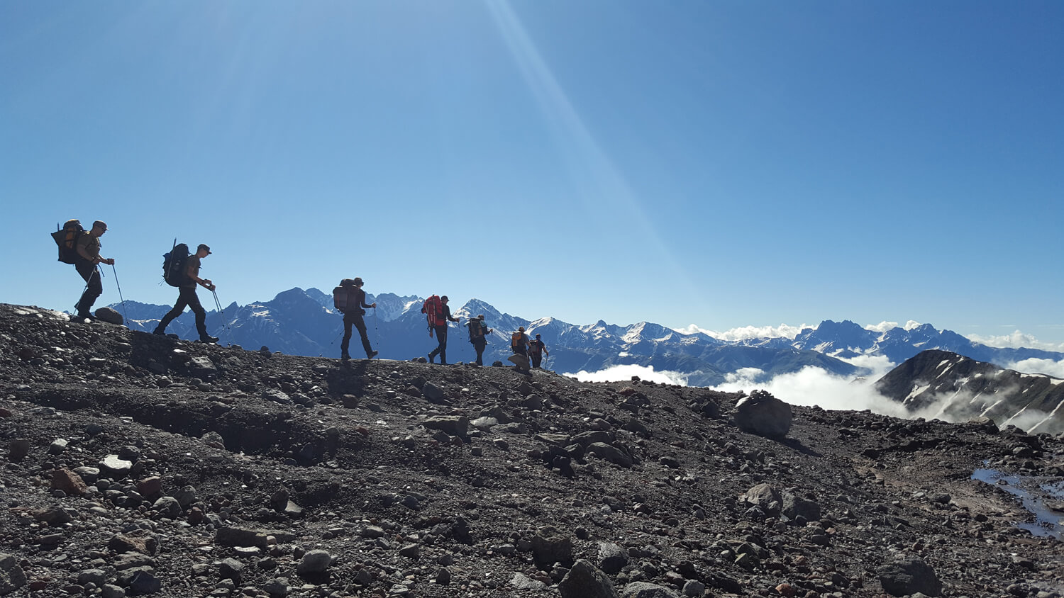 Expeditions to Mt. Kazbek & Elbrus