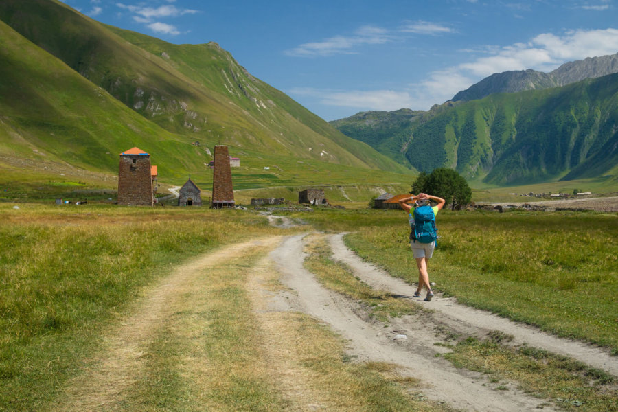 Around Stepancminda. What to do after climbing Kazbek?