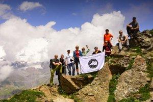climbing mt. Elbrus